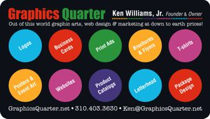 Business Cards Designs by Graphics Quarter